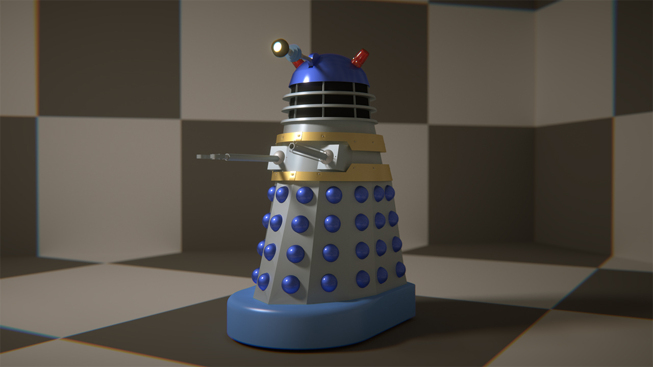 First Movie Dalek
